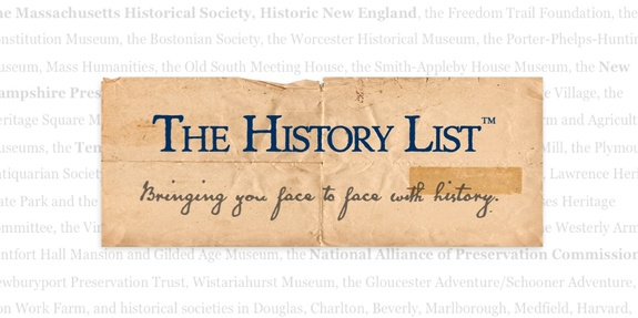 The History List is used by hundreds of organizations to publicize their events