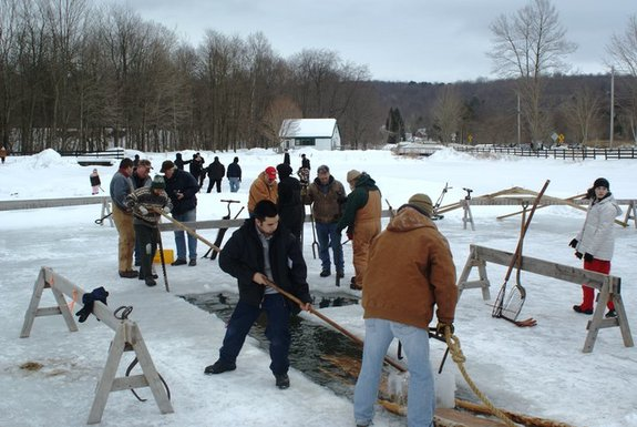 Ice Harvest Festival at Hanford Mills Museum