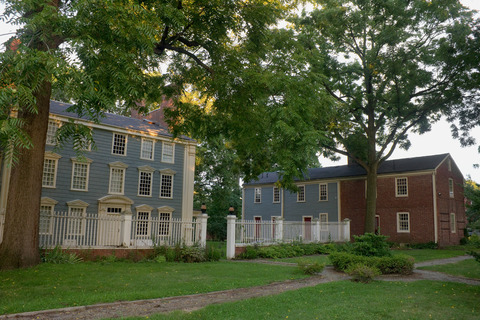 The Royall House and Slave Quarters in Medford, Massachusetts