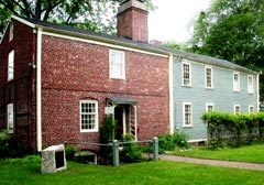 The slave quarters on the grounds of the Royall House and Slave Quarters in Medford, Massachusetts
