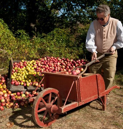 Apple Days at Old Sturbridge Village in Sturbridge, Massachusetts