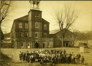 Laurel Mill Workers Circa 1914.  Note children