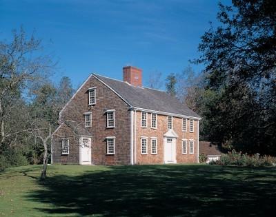 Winslow Crocker House in Yarmouth Port, Massachusetts