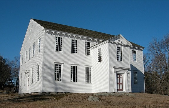 Rocky Hill Meeting House in Amesbury, Massachusetts