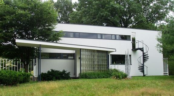 Gropius House in Lincoln, Massachusetts