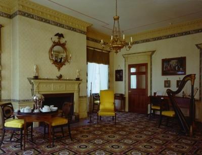 Withdrawing Room of Otis House in Boston, Massachusetts