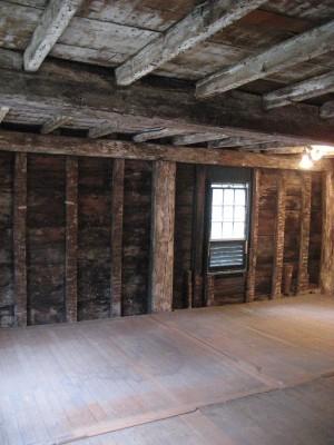 Hall Chamber of Gedney House in Salem, Massachusetts