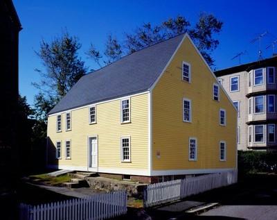 Gedney House in Salem, Massachusetts