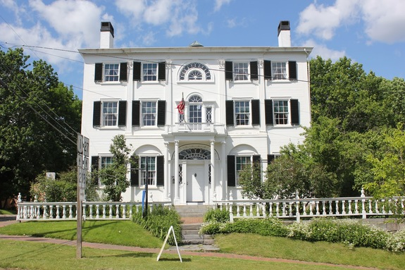 Nickels-Sortwell House in Wiscasset, Maine