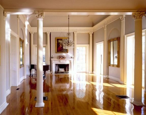 The Ballroom of Lyman Estate in Waltham, Massachusetts