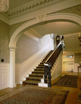Entry Hall of Governor John Langdon House in Portsmouth, New Hampshire