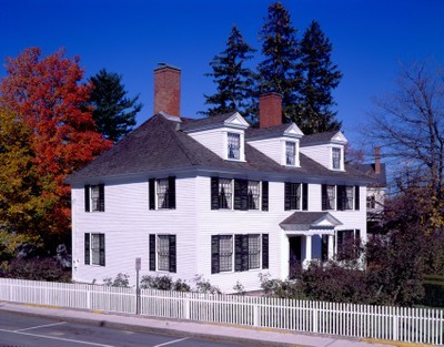 Sarah Orne Jewett House in South Berwick, Maine