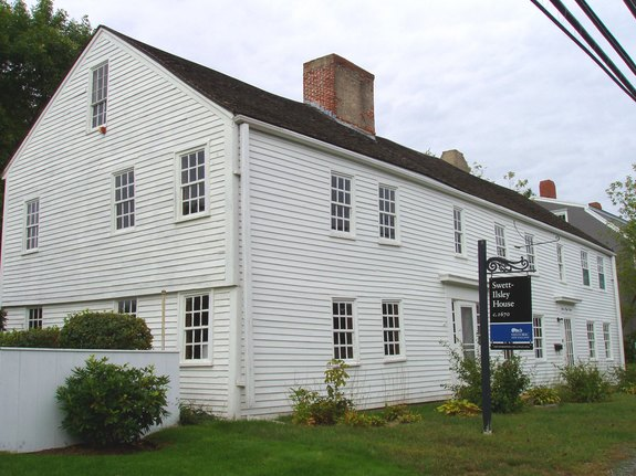 Swett-Ilsley House in Newbury, Massachusetts