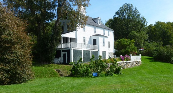 Sayward-Wheeler House in York Harbor, Maine