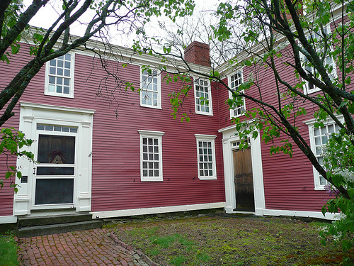 Gilman Garrison House in Exeter, New Hampshire