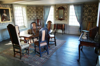 Council room of Gilman Garrison House in Exeter, New Hampshire