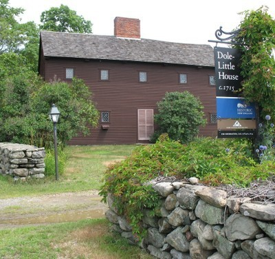 Dole-Little House in Newbury, Massachusetts