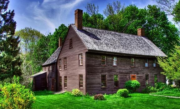 Coffin House in Newbury, Massachusetts
