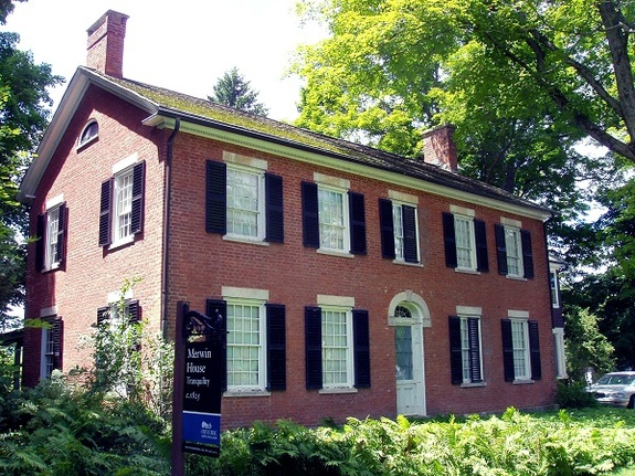 Merwin House in Stockbridge, Massachusetts