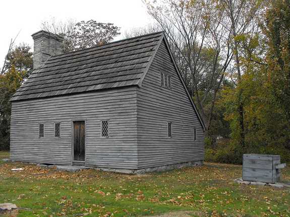 Clemence-Irons House in Johnston, Rhode Island