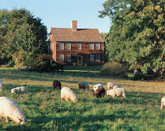 Watson Farm in Jamestown, Rhode Island