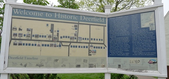 Map of Historic Deerfield
