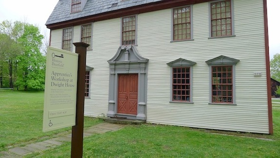 Apprentice's Workshop at Dwight House at Historic Deerfield