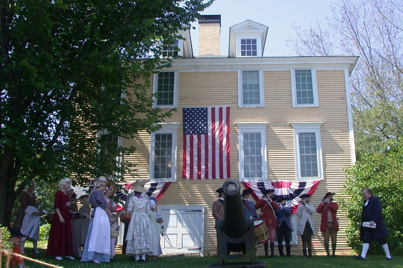 The American Indepenence Festival in Exeter, Vermont