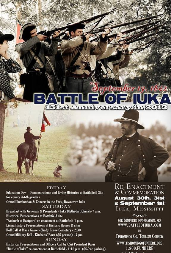 Battle of Iuka Reenactment