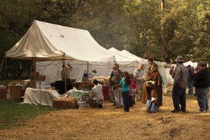 Hayes Civil War Reenactment recreating Battle of Cedar Creek