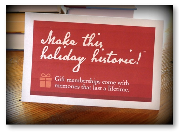 A holiday promotion table sign you can download