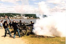 6th Maine Battery Cannon Firings