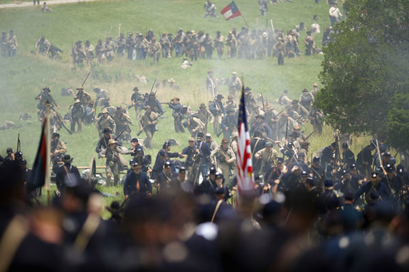 Franklin's Blue-Gray Days & 149th reenactment