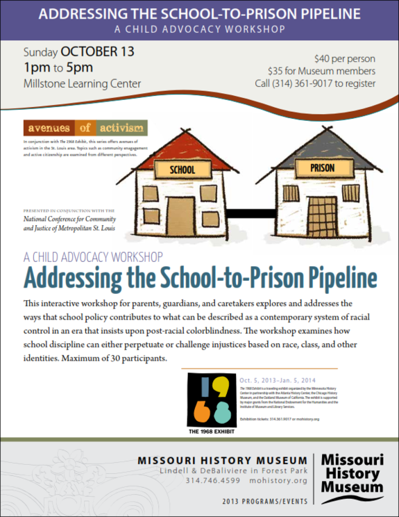 Addressing the School-to-Prison Pipeline: A Child Advocacy Workshop