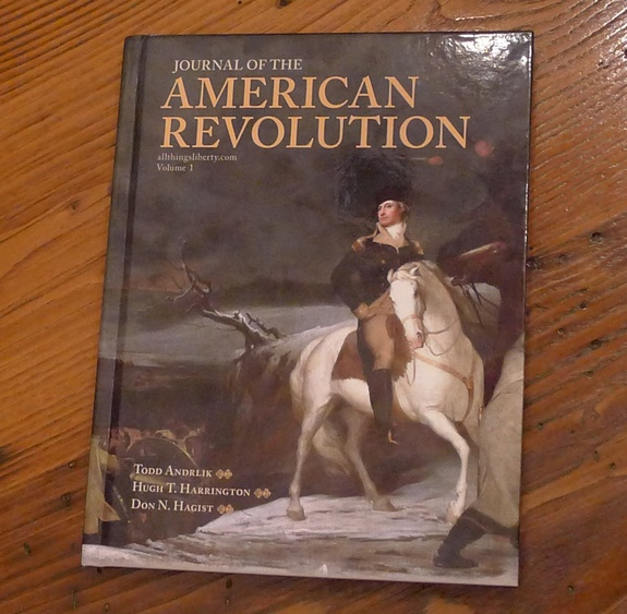 The first edition of the Journal of the American Revolution