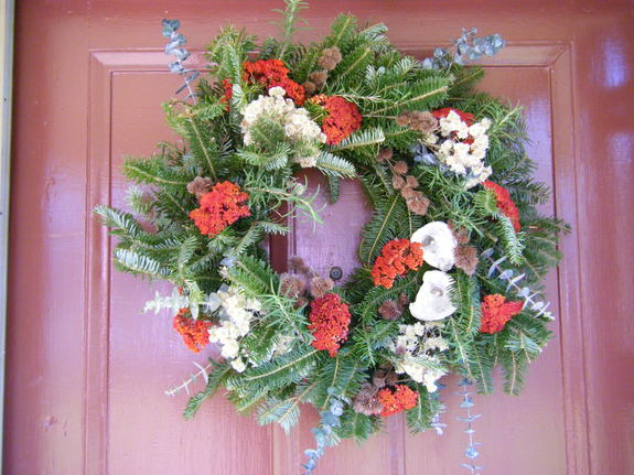 Wreath - Colonial Christmas Open House (JLMH)