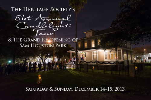 The Heritage Society's 51st Annual Candlelight Tour