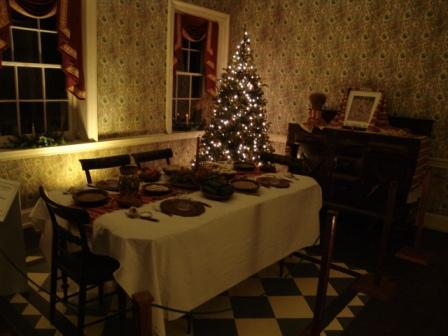 Christmas at the Village Main House Decorations