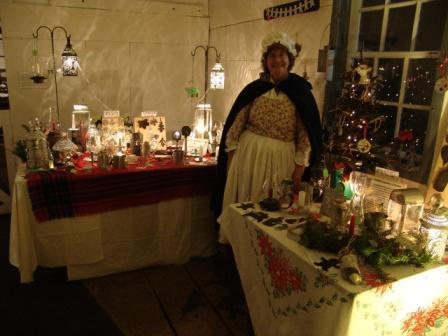 Vendors at Christmas at the Village