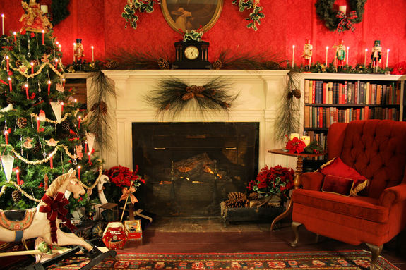 Old Fashioned Christmas Pictures.An Old Fashioned Christmas At Hearthside House