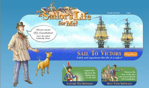 "Screenshot from ""A Sailor's Life for Me"" from the USS Constitution Museum"