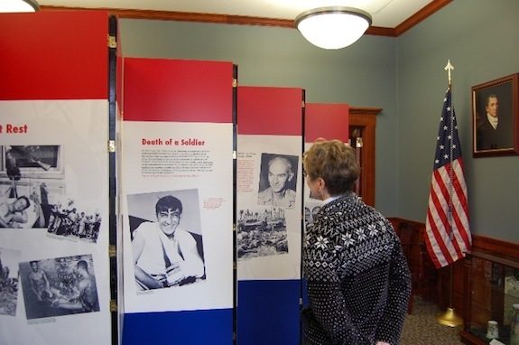 A traveling exhibit from the Indiana State Historical Society