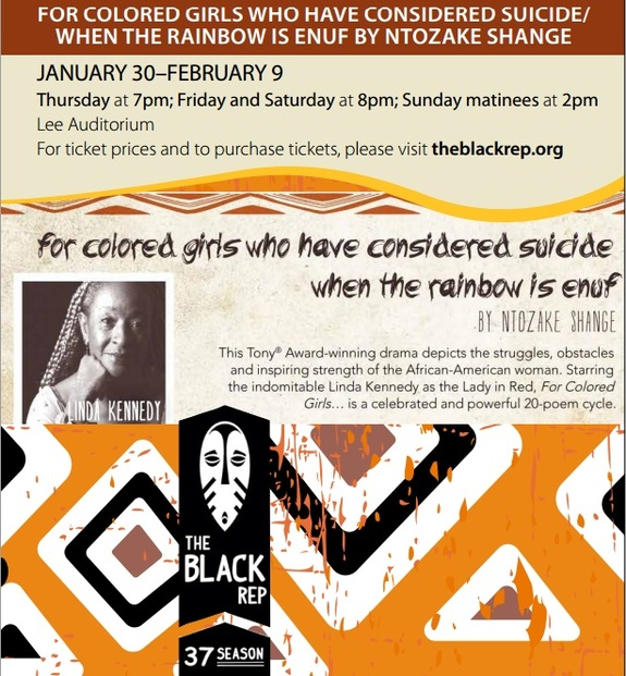 FOR COLORED GIRLS WHO HAVE CONSIDERED SUICIDE/ WHEN THE RAINBOW IS ENUF BY NTOZAKE SHANGE