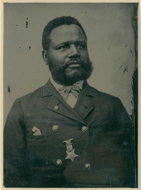 te Charles A. Smith, Tintype, circa 1880, Massachusetts Historical Society
