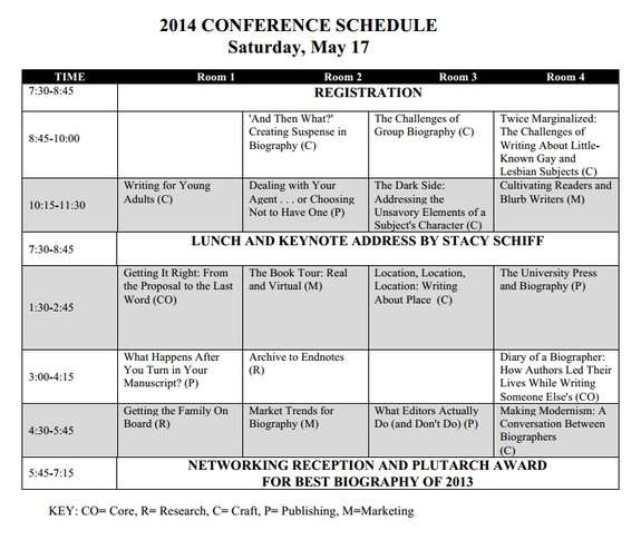 2014 Compleat Biographer Conference