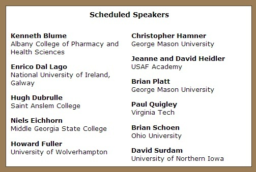 2014 Signature Conference Speakers