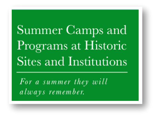 The only guide to programs at historic sites and from history organizations