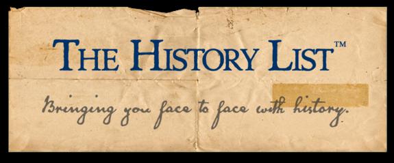 The History List logo