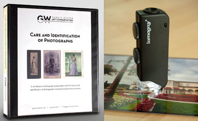Care and Identification of Photographs Workshop