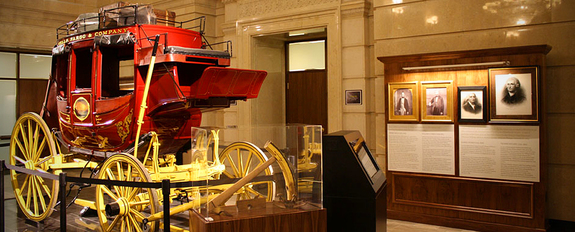 One of 11 Wells Fargo history museums across the country